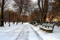 Hiver de Boston Image stock