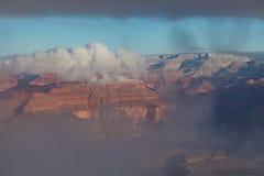 Hiver de canyon grand Photographie stock libre de droits