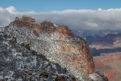 Hiver de canyon grand Photo libre de droits