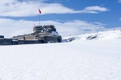 Hiver de château (4 saison Kars) photographie stock