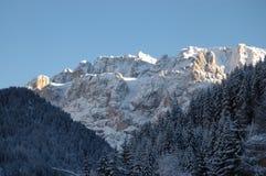 hiver de dolomites Images stock