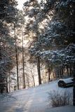 Hiver de Russiaan Photos libres de droits
