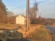 Hiver 2017 du comté de Lancaster Pennsylvanie Photos stock