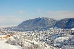 Hiver en Brasov Image libre de droits