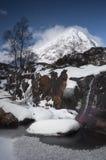 Hiver en Glen Coe Photographie stock libre de droits