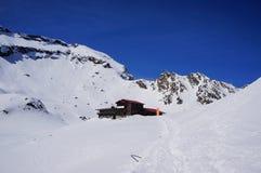 Hiver en montagnes Image libre de droits