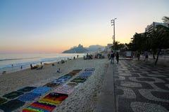 Hiver en Rio de Janeiro - le Brésil Photo stock