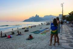 Hiver en Rio de Janeiro - le Brésil Photographie stock
