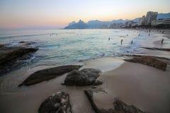 Hiver en Rio de Janeiro - le Brésil Image libre de droits