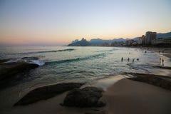 Hiver en Rio de Janeiro - le Brésil Image stock