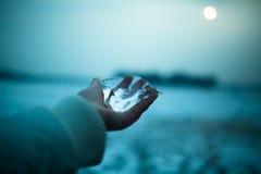 Hiver et glace Images libres de droits
