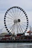 Hiver Ferris Wheel Photos libres de droits