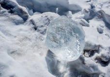 Hiver frais frais de glace Images libres de droits