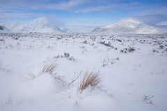 Hiver, Glen Coe Photos stock