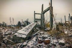 hiver nucléaire photo libre de droits