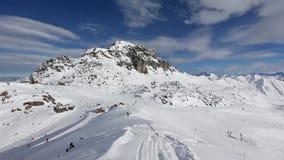 Hiver Ski Resort en Autriche clips vidéos