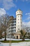Hiver tempéré dans la ville allemande Constance Photos libres de droits