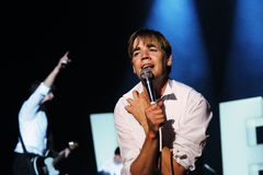 The Hives band performs at Universidad Complutense Stock Photography