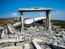 Hizbollah och Israel krig i 2006 Fotografering för Bildbyråer