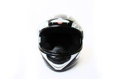 hjälm isolerad motorbike Royaltyfri Bild