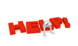 hjälp 2 Fotografering för Bildbyråer