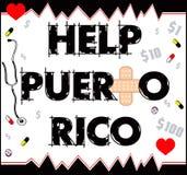 Hjälp Puerto Rico 2 Royaltyfria Bilder