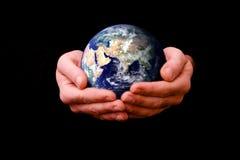 hjälpande värld Royaltyfri Fotografi