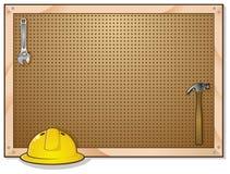 hjälpmedel för bänkbrädepinne Arkivfoton