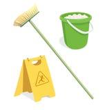 Hjälpmedel för cleaning Royaltyfri Fotografi