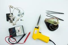 Hjälpmedel för elektronik arkivbilder
