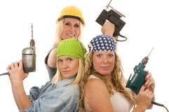 hjälpmedel för lady för konstruktionsleverantör sexiga Arkivfoton