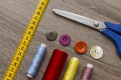 Hjälpmedel för modeformgivare Arkivbild