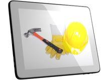 hjälpmedel för tablet för datorskärm Fotografering för Bildbyråer