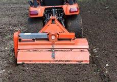 hjälpmedel för traktor för rorkult för tillbehörcloseup s Arkivfoton