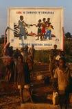 Hjälpmedelmedvetenhetaktion i Burundi. royaltyfri fotografi