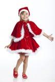 hjälpreda 5 little gammala år för s santa Royaltyfria Bilder