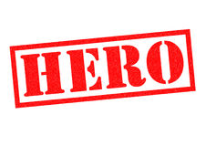 hjälte stock illustrationer