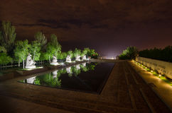 Hjältefyrkant, Stalingrad Volgograd, Ryssland Arkivfoton