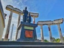 Hjältemonument Surabaya fotografering för bildbyråer