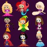 Hjältinnan av sagor Royaltyfri Illustrationer