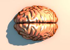 Hjärna neurons, synapses, strömkrets för nerv- nätverk av neurons, degenerative sjukdomar, Parkinson stock illustrationer