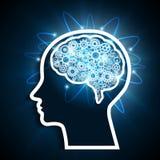 Hjärnanslutningar vektor illustrationer