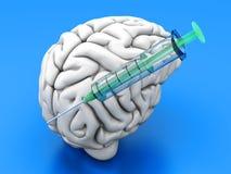 Hjärninjektion Arkivbilder
