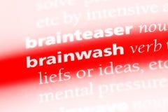 hjärntvättar arkivfoto