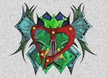 hjärta vektor illustrationer