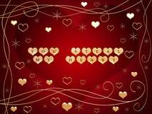 hjärta 2 min stöld dig Royaltyfri Fotografi