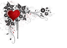 hjärta 3 Vektor Illustrationer