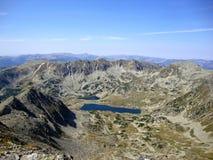 Hjärta av de Retezat bergen Arkivbilder