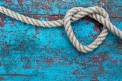 Hjärta av repet Royaltyfri Foto