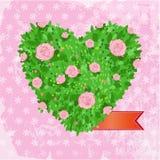 Hjärta av ro vektor illustrationer